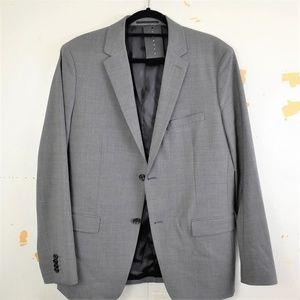 Theory Men's Grey Sport Ccoat Blazer Size 42R NEW